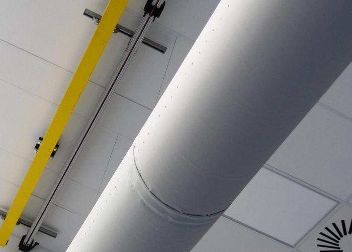 textiles Luftverteilsystem